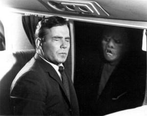 "William Shatner in ""Nightmare at 20,000 Feet"""