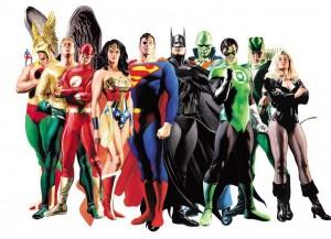 """""""Justice League"""" portrait by Alex Ross"""