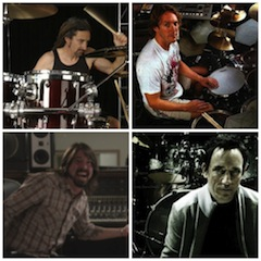 Drummer-Collage