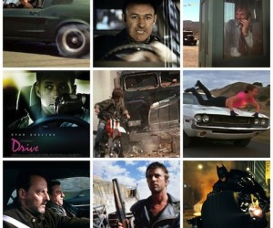 CAR CHASE Collage