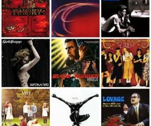 Valentine's Albums Collage