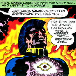 A Few Years Back They Made Comic Series With Robot OMAC Army But Its Just Cooler Single Human Hero Hes Sci Fi Epic Film Waiting To Happen