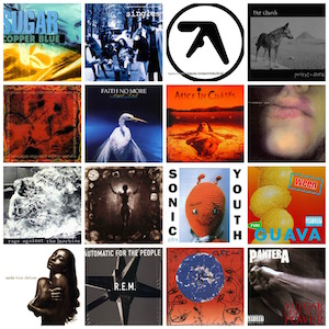 Albums turning 25 in 2017